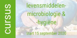 FiMM cursus levensmiddelenmicrobiologie hygiene